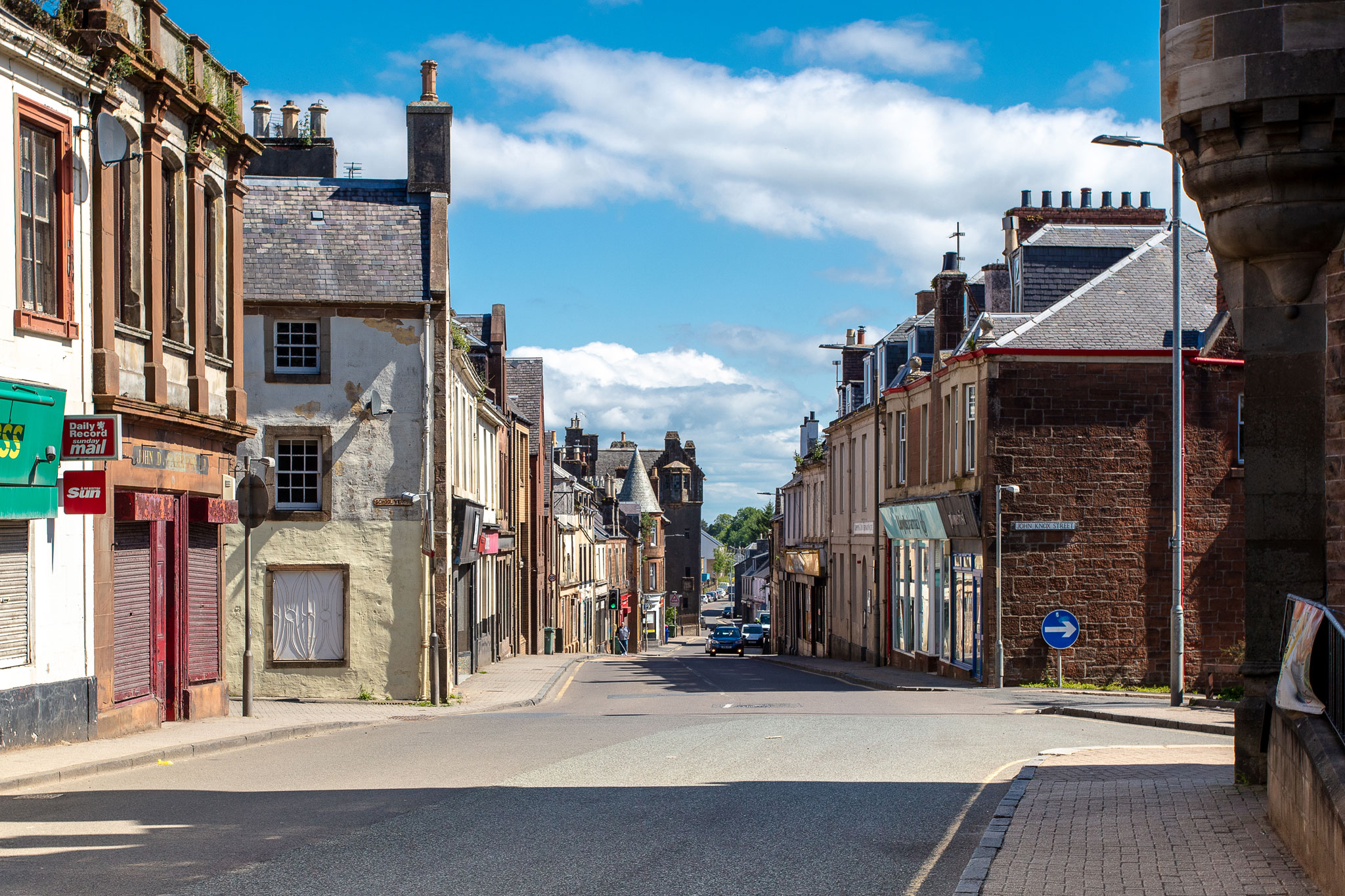 Shop local – it's not just a phrase, it's the lifeblood of a thriving town centre Maybole